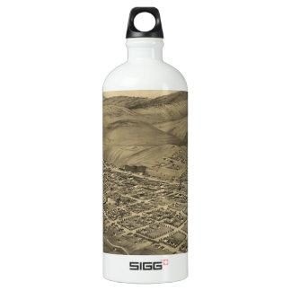 Vintage Pictorial Map of Helena Montana (1875) SIGG Traveller 1.0L Water Bottle
