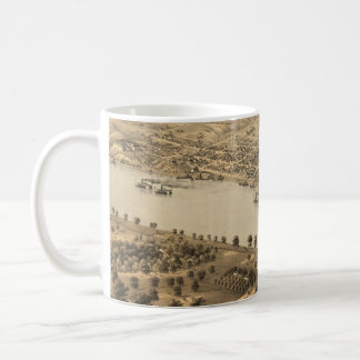 Vintage Pictorial Map of Jefferson City MO (1869) Coffee Mugs