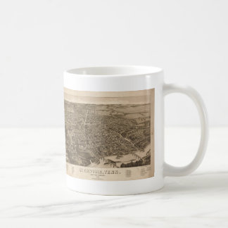 Vintage Pictorial Map of Knoxville (1886) Classic White Coffee Mug