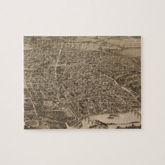 Vintage Pictorial Map of Knoxville (1886) Jigsaw Puzzle