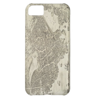 Vintage Pictorial Map of Portsmouth NH 1877 iPhone 5C Case