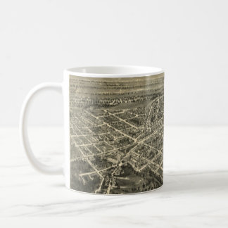 Vintage Pictorial Map of Rocky Mount NC (1907) Coffee Mug