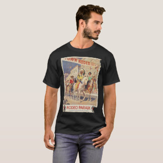 vintage picture Rodeo Parede T-Shirt