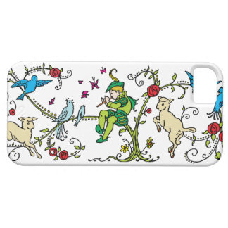 Vintage Pied Piper iPhone 5 Case