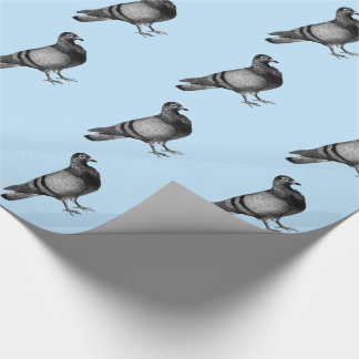Vintage Pigeon gifts Wrapping Paper