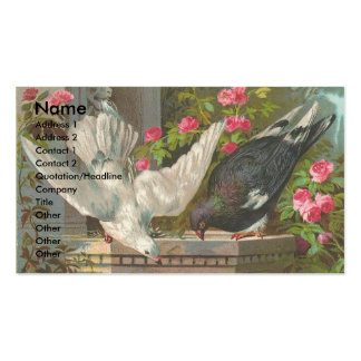 Vintage Pigeons Business Card