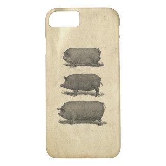 Vintage Pigs Case