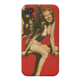 Vintage Pin-up Fairy iPhone 5 Case