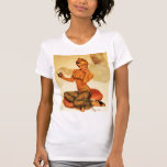 Vintage Pin Up Girl Tees and Sweats - Customise