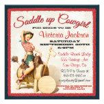 Vintage Pin up Rockabilly Cowgirl Bridal Shower