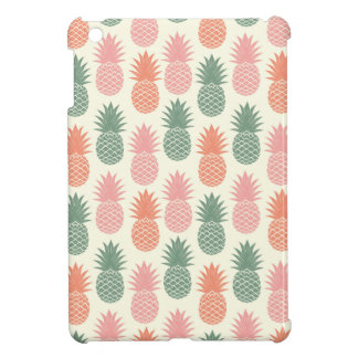 Vintage Pineapple Pattern 2 iPad Mini Cases