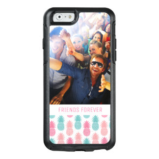 Vintage Pineapple Pattern | Add Your Photo & Text OtterBox iPhone 6/6s Case