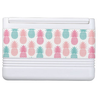 Vintage Pineapple Pattern Igloo Cooler