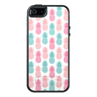 Vintage Pineapple Pattern OtterBox iPhone 5/5s/SE Case