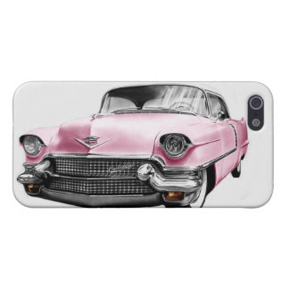 Vintage Pink Cadillac Pink Caddy iPhone 5/5s Case