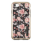 Vintage Pink Floral Pattern Apple iPhone 7 Case