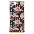 Vintage Pink Floral Pattern iPhone 7 Plus Case
