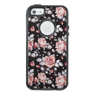 Vintage Pink Floral Pattern OtterBox iPhone 5 Case