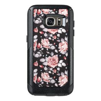 Vintage Pink Floral Pattern Samsung Galaxy S7 Case