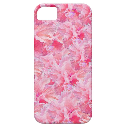 Vintage Pink Flowers Case For The iPhone 5