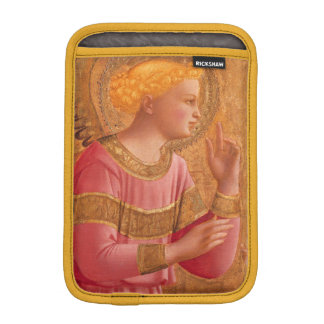 Vintage Pink Golden Christian Angel iPad Mini Sleeve