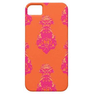 Vintage pink/orange color background iPhone 5 cover