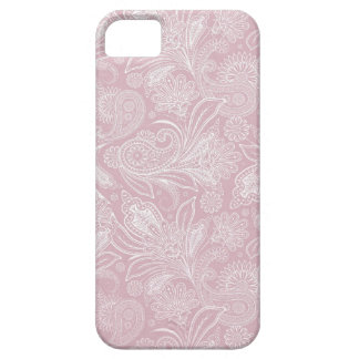 Vintage Pink Paisley iPhone 5 Cases