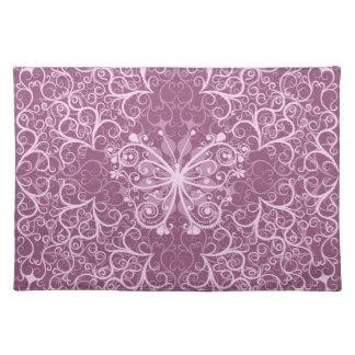 Vintage Pink Pattern Placemat