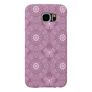 Vintage Pink Pattern Samsung Galaxy S6 Cases