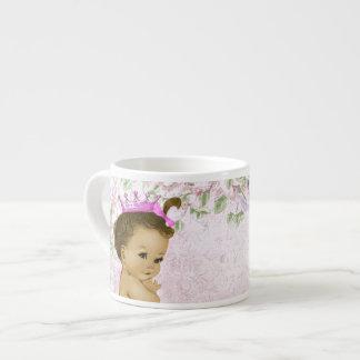 Vintage Pink Princess Baby Cups Espresso Mug