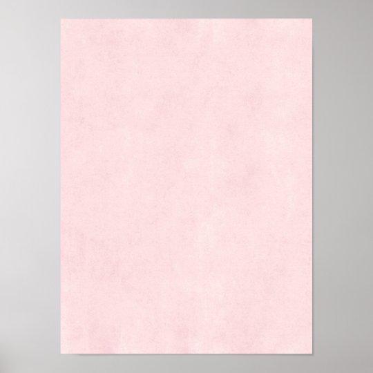 Vintage Pink Rose Parchment Old Paper Background Poster