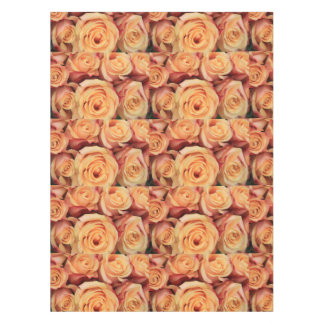 vintage pink roses by Therosegarden Tablecloth