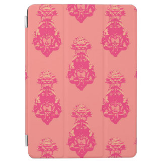 Vintage pink/salmon color background iPad air cover