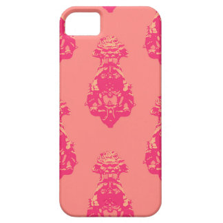 Vintage pink/salmon color background iPhone 5 cover
