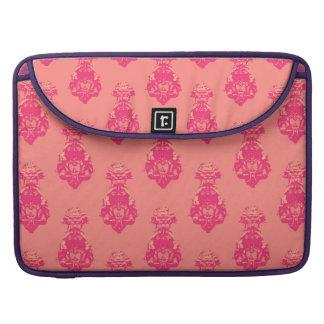 Vintage pink/salmon color background MacBook pro sleeves
