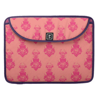 Vintage pink/salmon color background sleeve for MacBooks