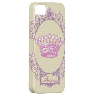 Vintage Pink victorian princess crown  iphone5case iPhone 5 Case