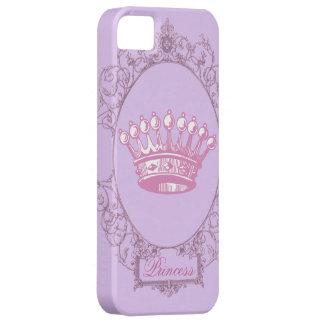 Vintage Pink victorian princess crown iphone5case iPhone 5 Cases