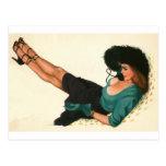 Vintage Pinup Girl Original Colouring 15
