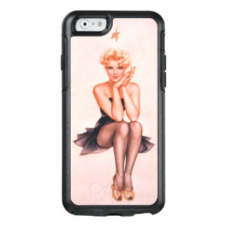 Vintage Pinup Girl OtterBox iPhone 6/6s Case
