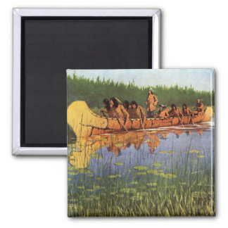 Vintage Pioneers, Great Explorers by Remington Magnet