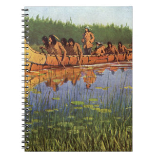 Vintage Pioneers, Great Explorers by Remington Notebooks