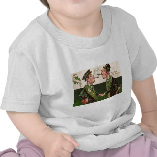 Vintage Pipes of Peace St Patrick's Day Card Shirts