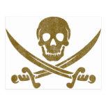 Vintage Pirate Postcard