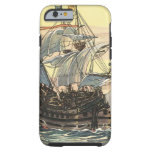 Vintage Pirate Ship Galleon Sailing on the Ocean Tough iPhone 6 Case