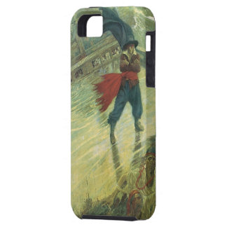 Vintage Pirate, The Flying Dutchman by Howard Pyle iPhone 5 Covers