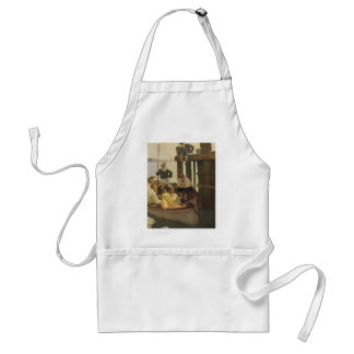 Vintage Pirates, At Queen's Ferry by NC Wyeth Standard Apron