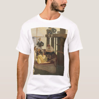Vintage Pirates, At Queen's Ferry by NC Wyeth T-Shirt