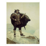Vintage Pirates, Captain Bill Bones by NC Wyeth Poster