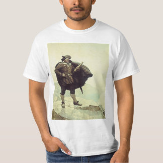 Vintage Pirates, Captain Bill Bones by NC Wyeth T-Shirt